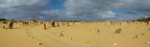 Australienreisen anders - die Pinnacles