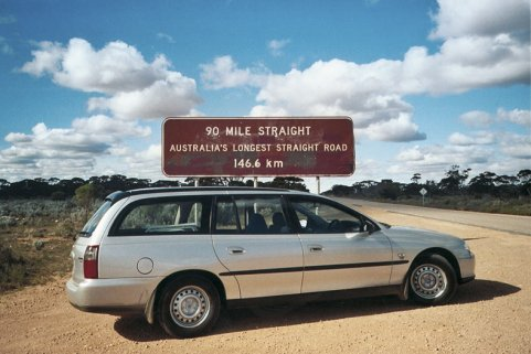 90 Meilen geradeaus! Ute Scheller - Reisebegleitung Australien